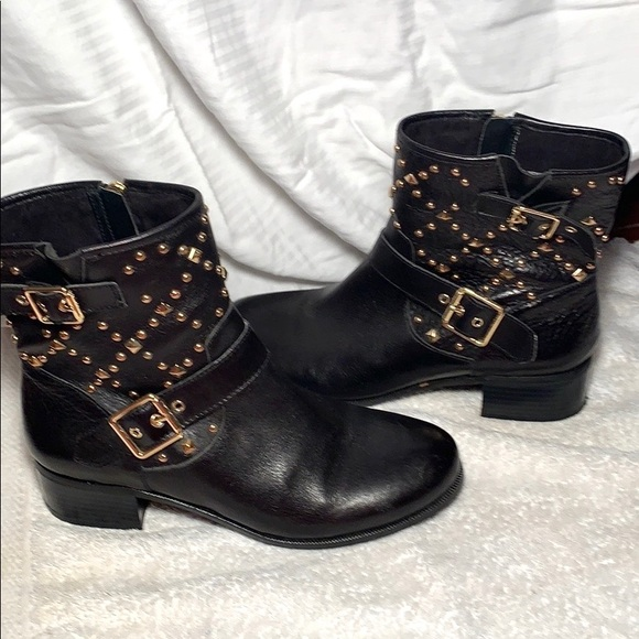 INC International Concepts Shoes - Leather ankle boots -booties